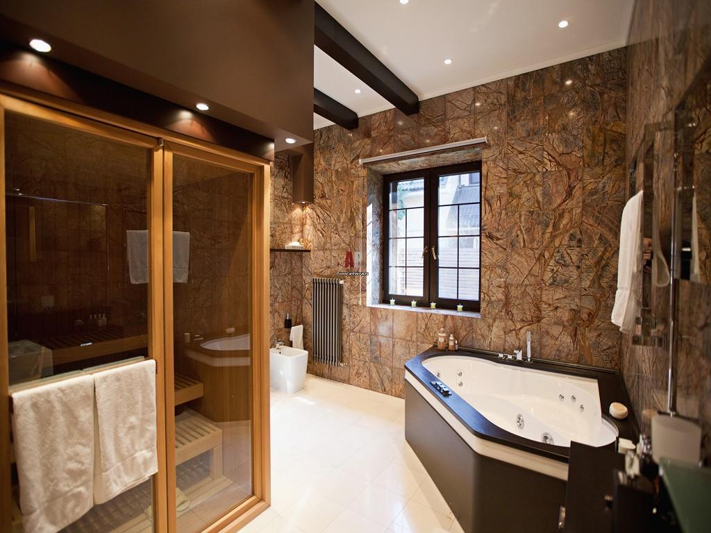 Дизайн зоны ванной