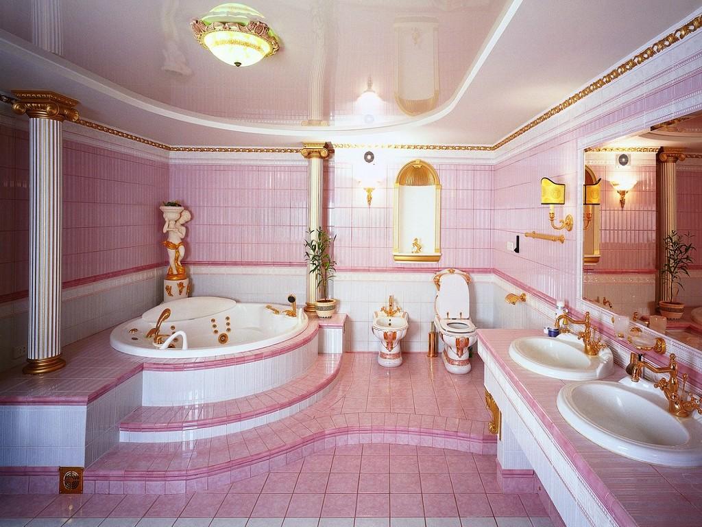Фото больших ванных комнат дизайн