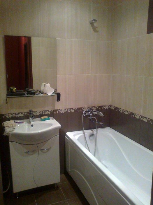 бюджетный дизайн ванной комнаты фото
