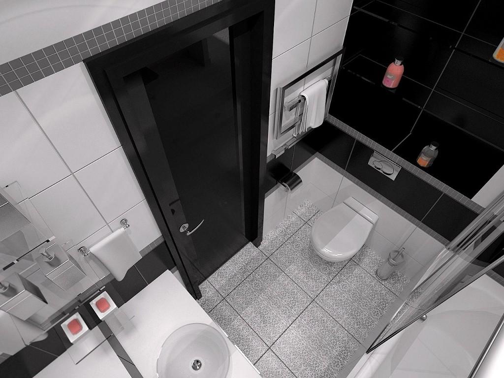 Черная ванная комната дизайн
