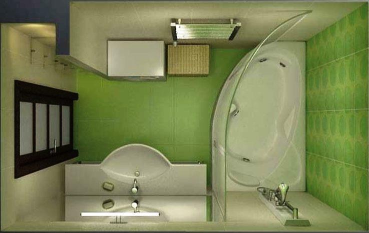 Дизайн ванной комнаты 4 без туалета