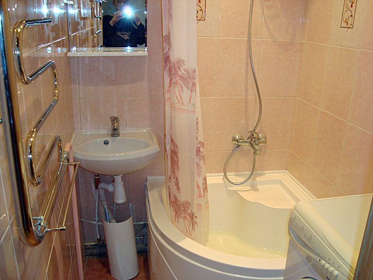 Дизайн маленькой ванны