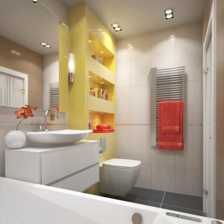 дизайн проект ванной