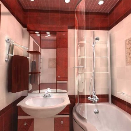 Фото ванных комнат маленьких размеров