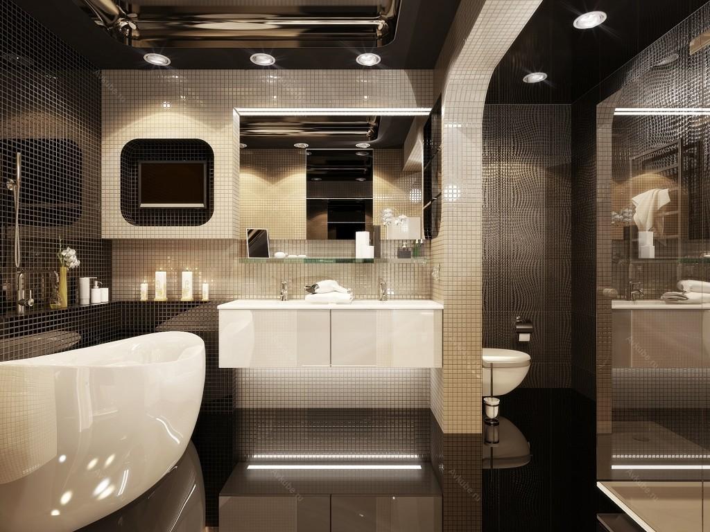 Дизайн ванны квартире плитка 101