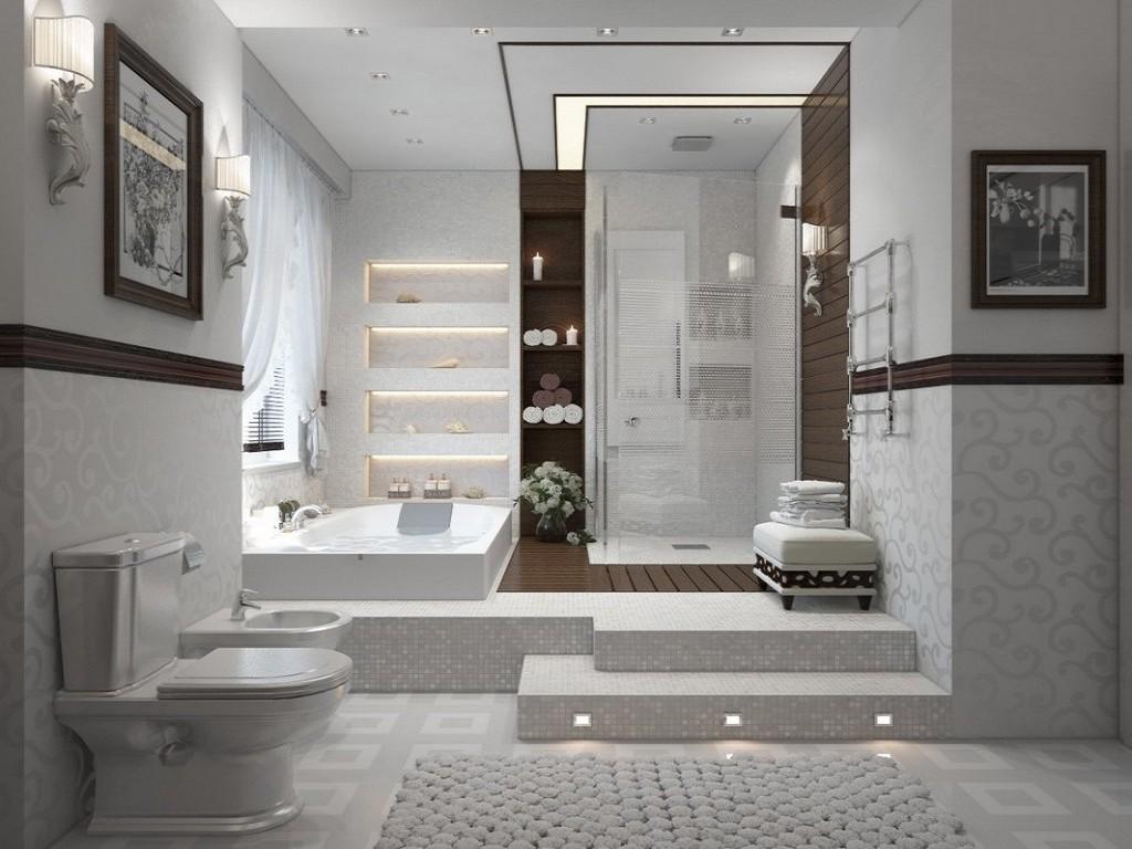 Ванные комнаты фото 2016