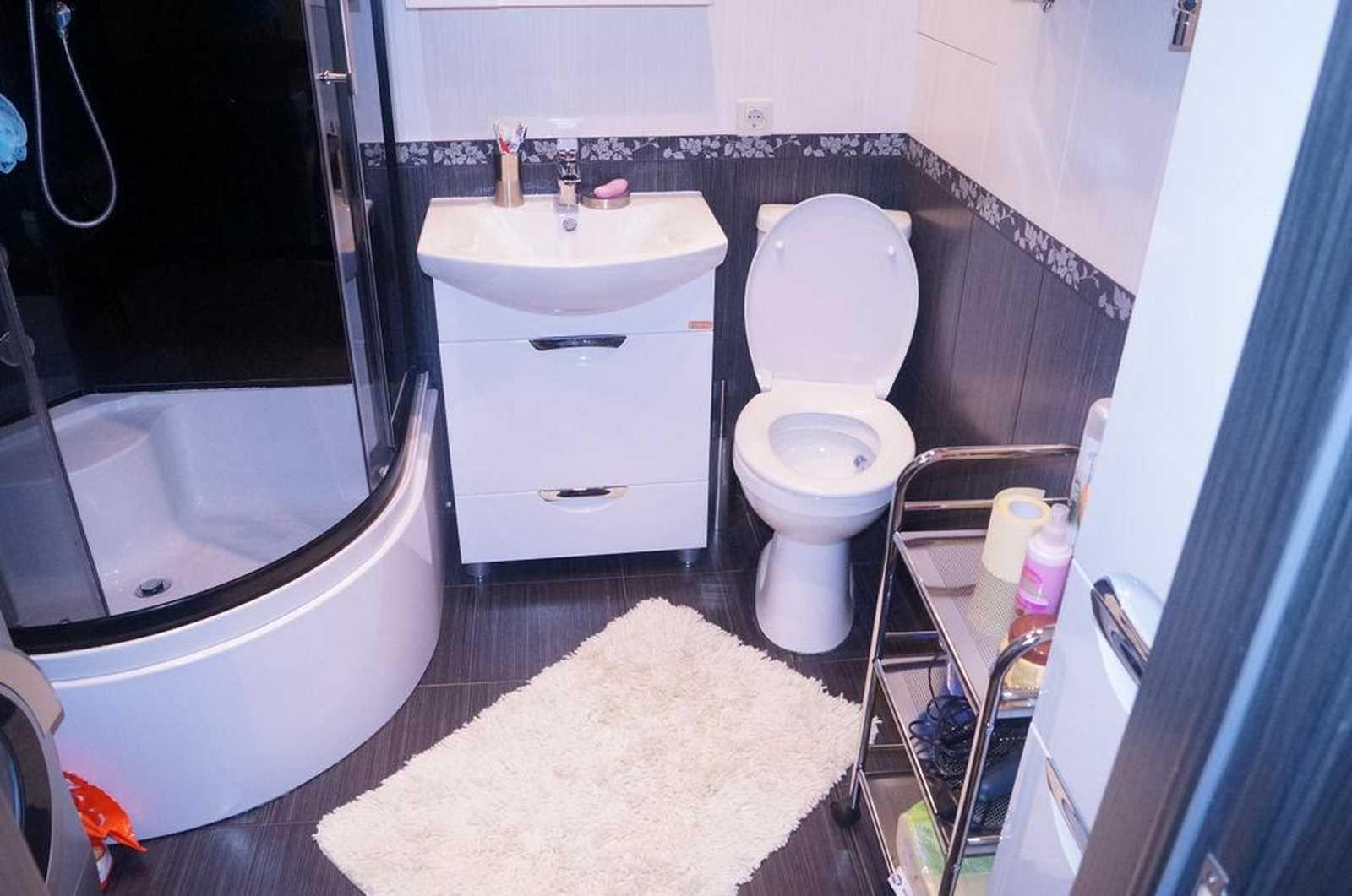 ремонт маленькой ванной комнаты и туалета фото