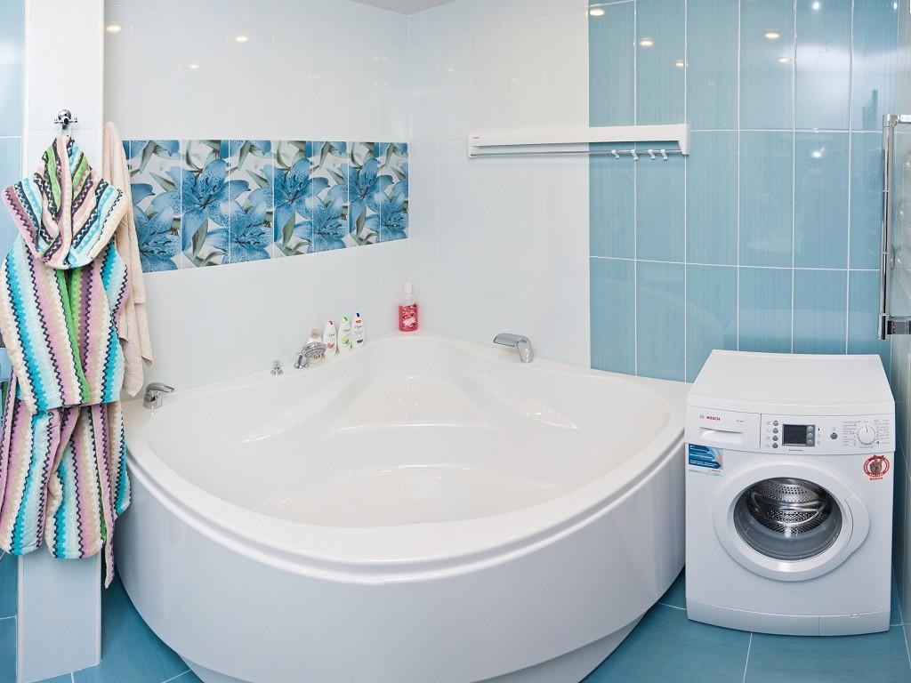 Дизайн комнаты в голубом
