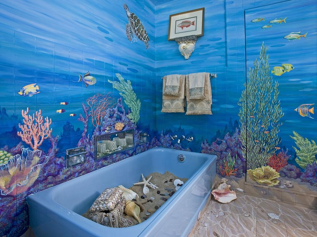 Дизайн ванных комнат своими руками