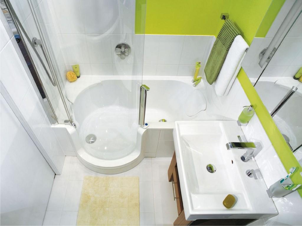 яркий дизайн ванной комнаты фото