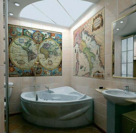 ванная комната в стиле модерн фото