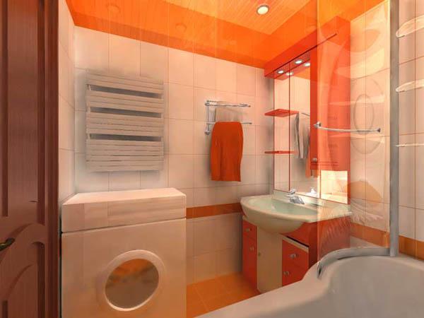 как выбрать цвет ванной комнаты без унитаза