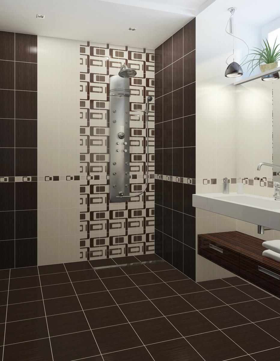 Керамическая плитка для ванной - Фото дизайн: http://www.moyavanna.com/keramicheskaya-plitka-dlya-vannoj/
