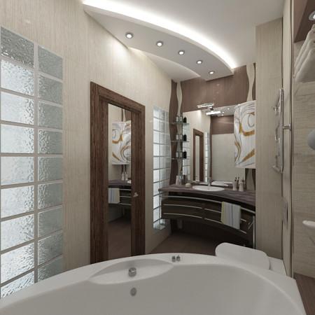 оформление ванной комнаты и туалета фото