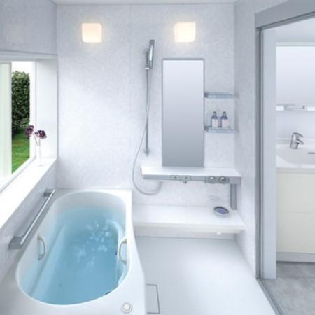 освещение в маленькой ванной