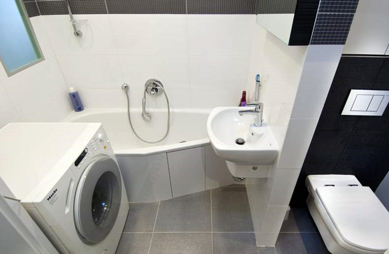 Перепланировка ванной комнаты в панельном доме фото