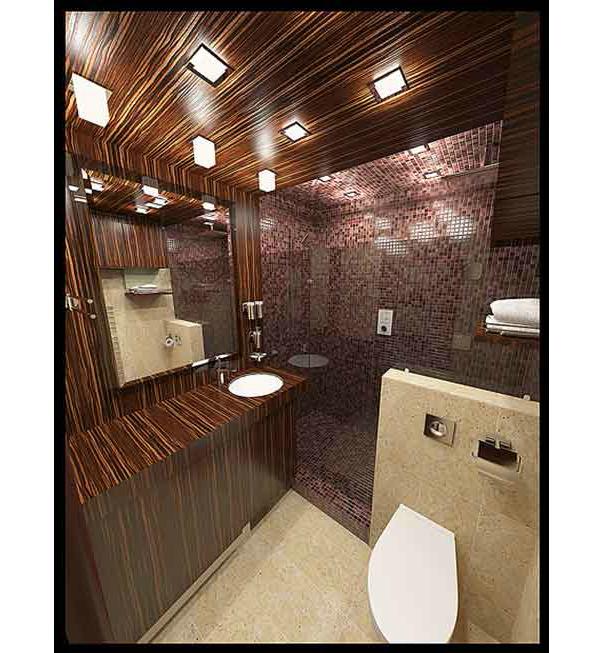 Размер туалета в доме