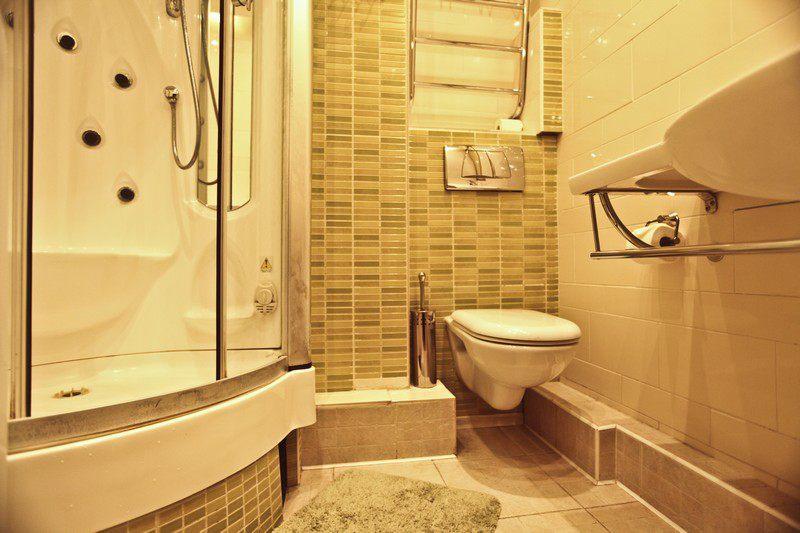 дизайн ванной в брежневке фото
