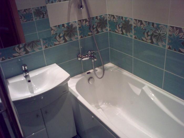 ванная комната брежневка фото
