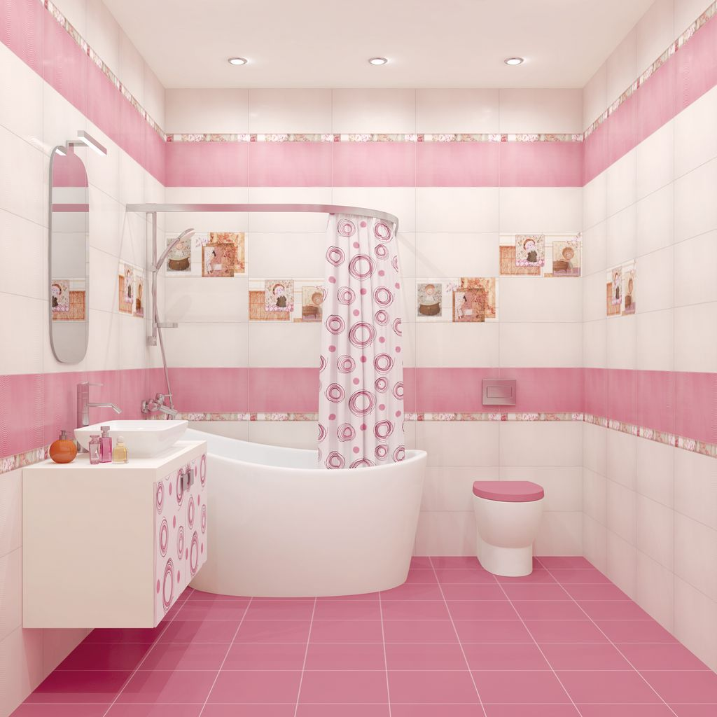 Дизайн ванной с орхидеями