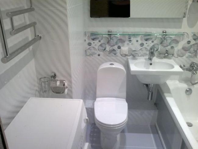 совмещенный санузел с ванной в хрущевке фото