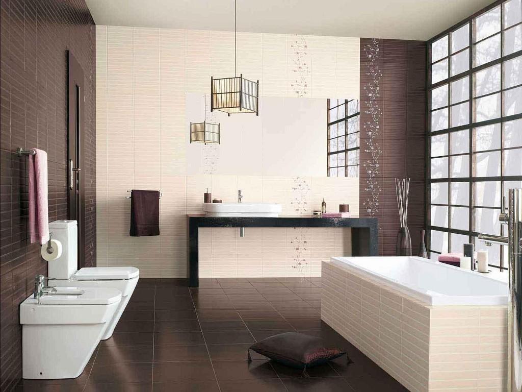 дизайн интерьер современной ванной