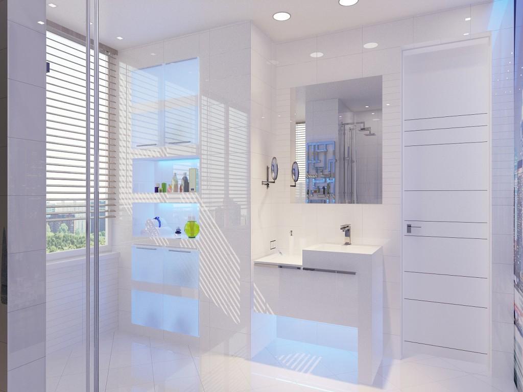 дизайн ванной в современном стиле фото