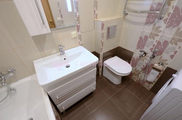 Стандартная ванная комната дизайн фото