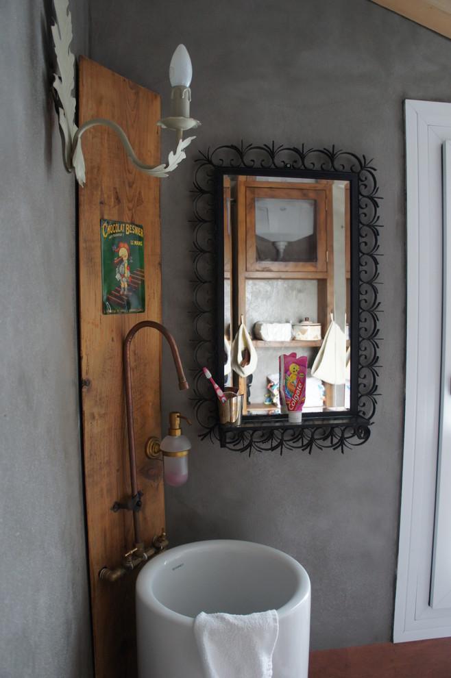 стиль прованс в интерьере ванной фото