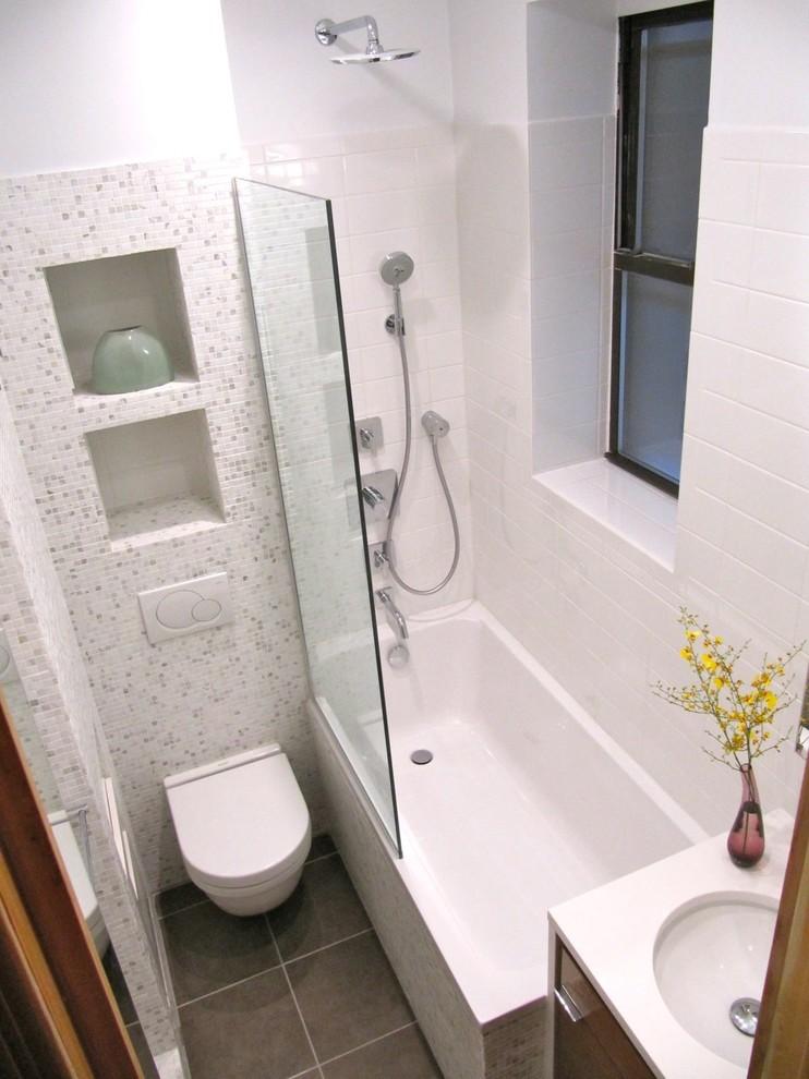 Маленький совмещенный туалет дизайн