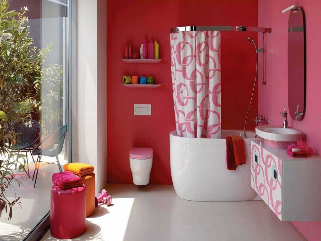 в какой цвет покрасить ванную комнату