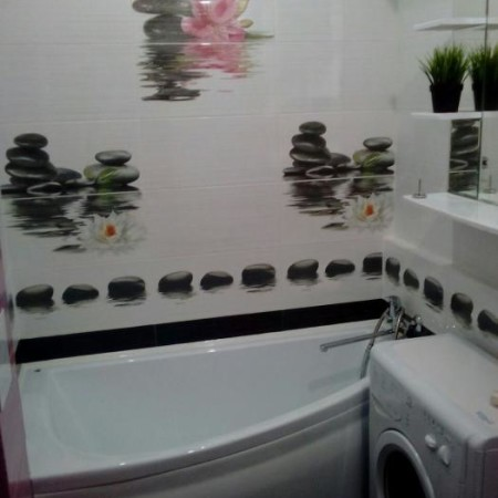 Дизайн ванной со стиральной машиной в хрущевке