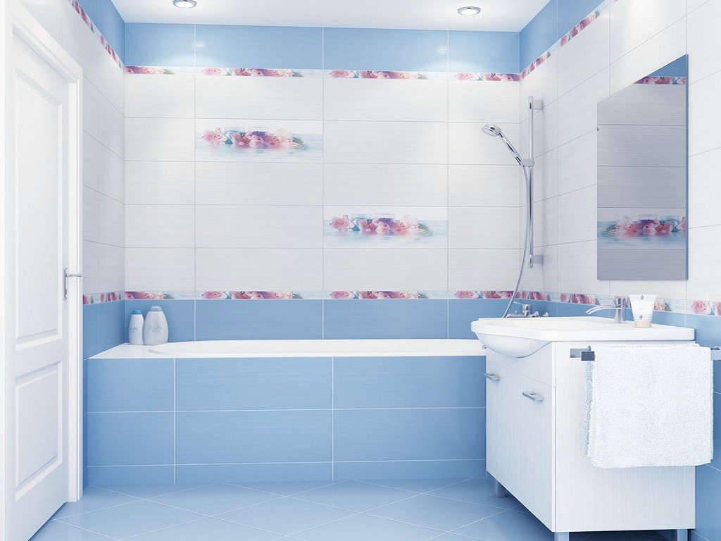 Ванная комната дизайн плитка коричневая