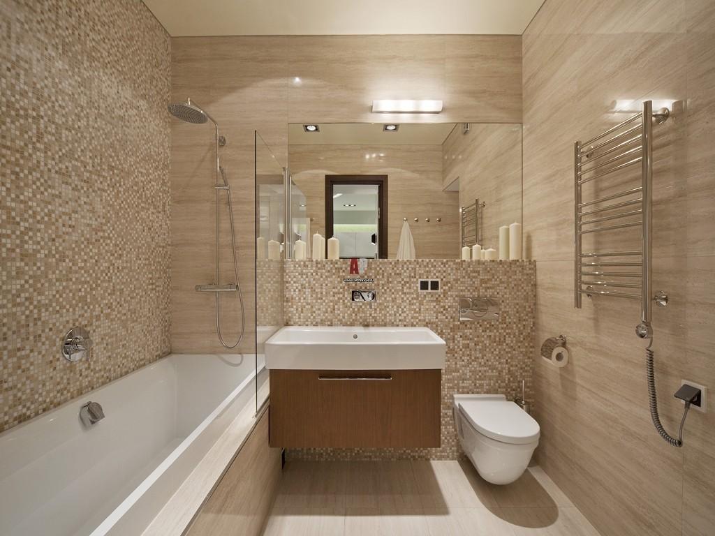 Ванная комната 27722 Дизайн ванной комнаты в голубых тонах, ванная комната 39371