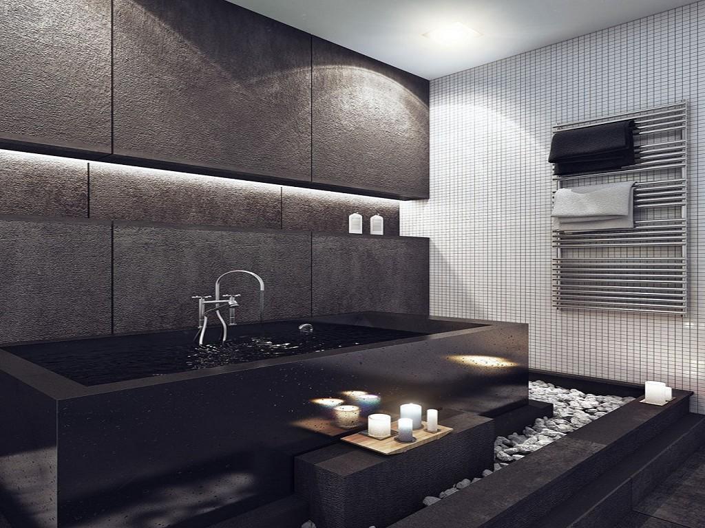 Дизайн комнаты в темных тонах фото