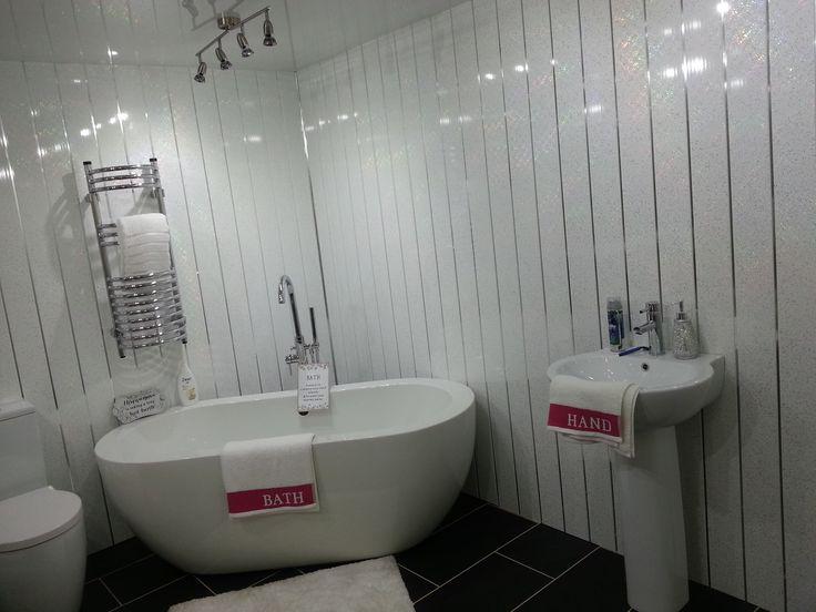 Ванная из пластиковых панелей