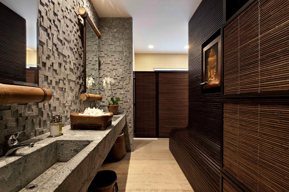 ванная комната в восточном стиле фото
