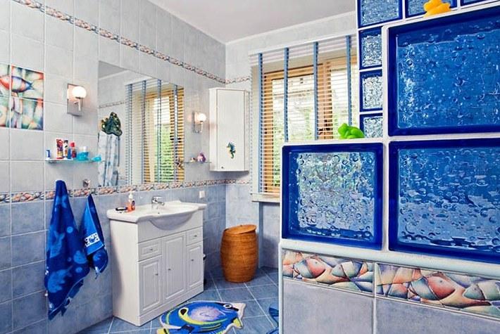 Ванная комната в морском стиле своими руками