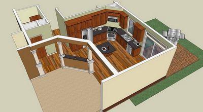 С Google SketchUp можно спроектировать все – от мебели до дома