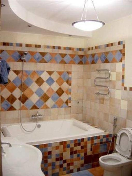лучшие варианты отделки ванной комнаты