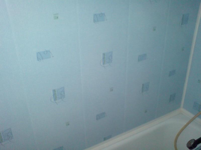 ПВХ панели в отделке ванной