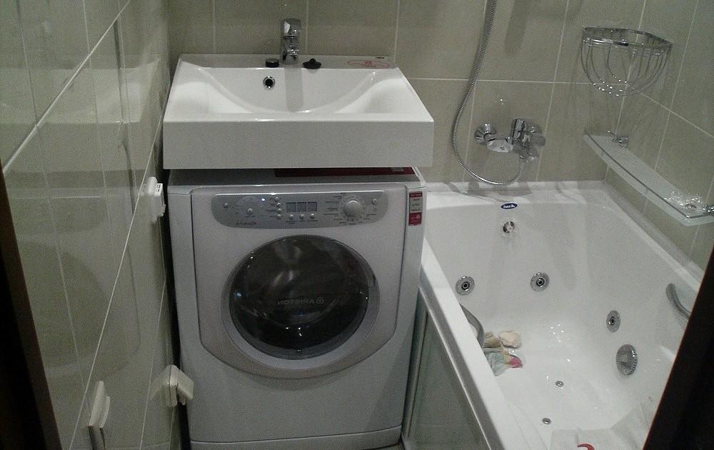 стиральная машина под раковину
