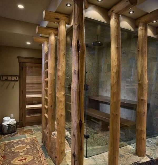 Как сделать тропический душ в ванной 87