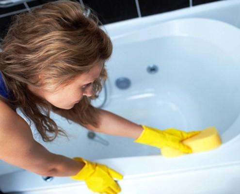 чем чистить акриловую ванну в домашних условиях