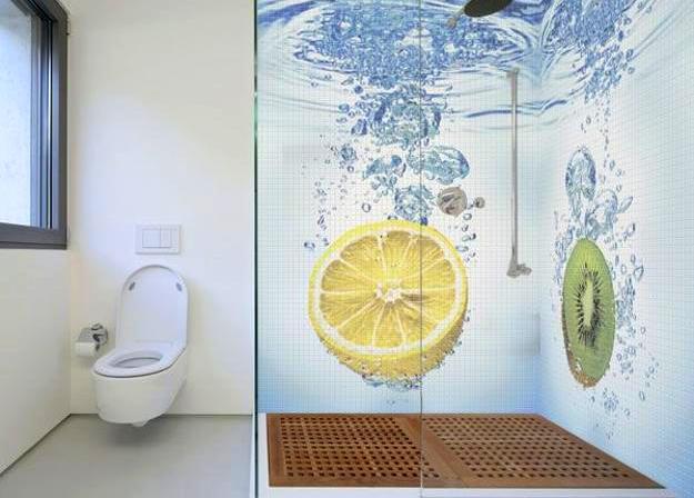 3d плитка в ванную комнату фото