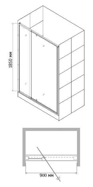 двери для душевых кабин