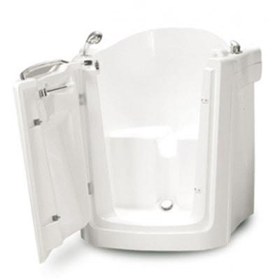 Фото: квадратная сидячая ванна