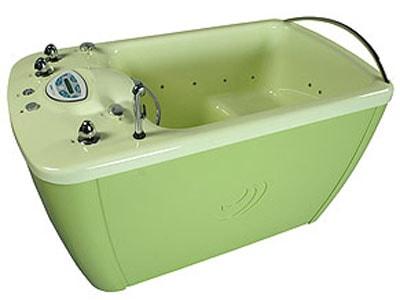 Фото: прямоугольная сидячая ванна