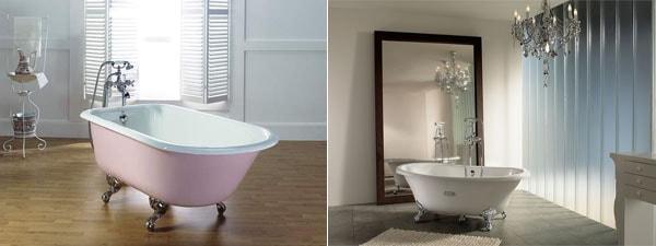 Фото: маленькие чугунные ванны