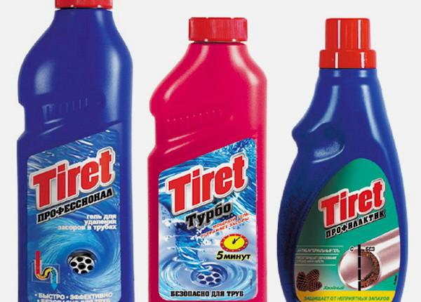 средство для прочистки канализационных труб